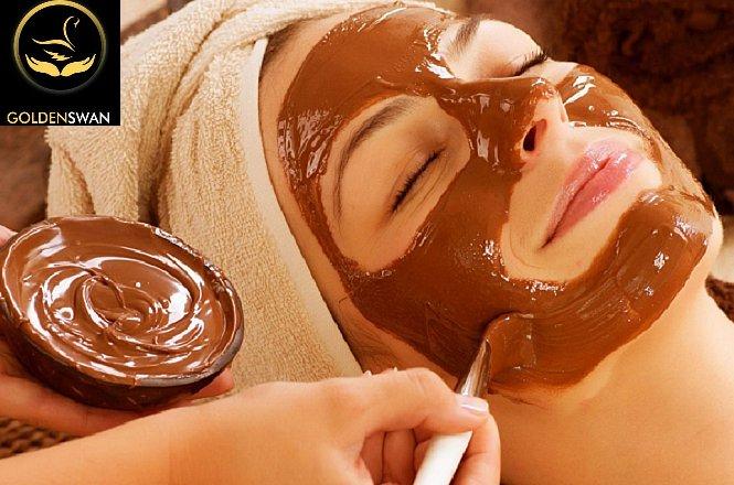 39,9€ δυο (2) συνεδρίες σοκολατοθεραπείας προσώπου στο Golden Swan Massage στο Ν.Ηράκλειο. Η σοκολατοθεραπεία, εκτός από μια ακαταμάχητη μυρωδιά που θα σας χαλαρώσει και θα σας προσφέρει τόνωση, θρέψη, σύσφιξη και αντιοξείδωση. εικόνα