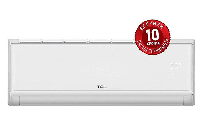 Aπό 285€ Air Condition TCL Elite Premium PRM CHSA/CI White 9,12,18 και 24,000 Btu. με 10 χρόνια εγγύηση και εγγύηση χαμηλότερης τιμής.Για περιορισμένο αριθμό τεμαχίων!! εικόνα