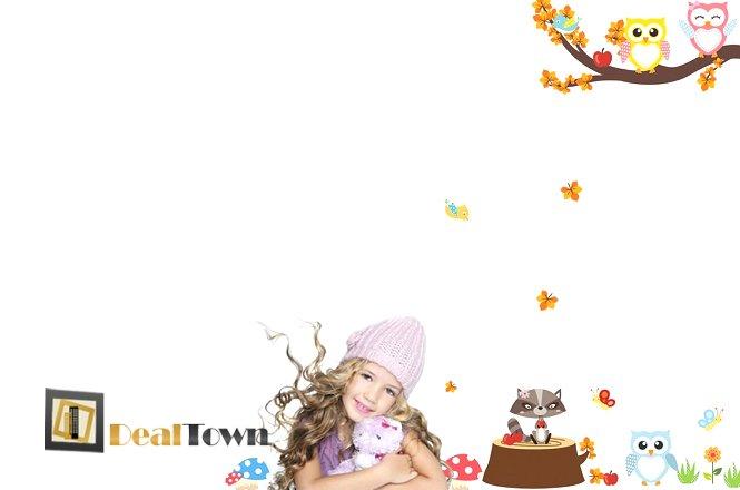 18€ σετ αυτοκόλλητων που συνθέτουν χρωματιστό τροπικό δάσος για το παιδικό δωμάτιο! Πολύχρωμα λουλούδια και ζωάκια που θα ομορφύνουν το δωμάτιο του παιδιού σας!Δωρεάν αποστολή του προϊόντος στην Αθήνα! εικόνα