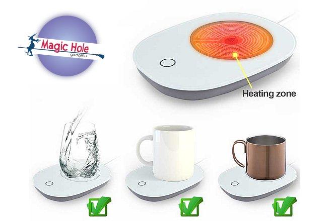 8.90€ για Μια Θερμαινόμενη Εστία Σε Άσπρο Χρώμα με παραλαβή από το Magic Hole ή 11.90€ για πανελλαδική αποστολή στο χώρο σας. Σύστημα θέρμανσης που έχει σχεδιαστεί για να ζεσταίνει με ταχύτητα τον καφέ ή τα ροφηματα και να τα διατηρεί ζεστα με θερμοκρασίας μέχρι και 55 ℃!! εικόνα