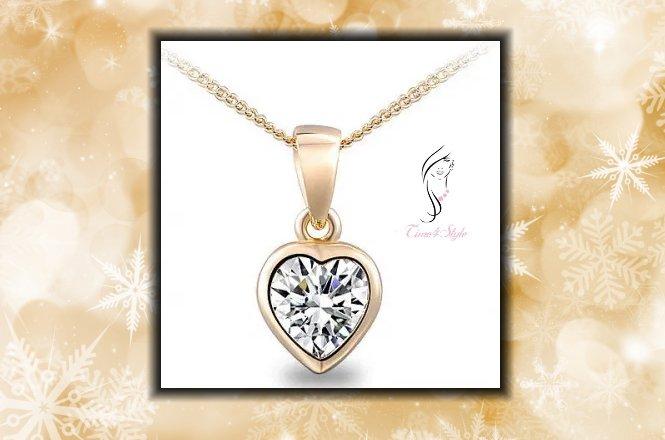 Από 12.5€ υπέροχο Κρεμαστό κόσμημα Golden Heart . Aπό το Time4Style στην Αθήνα. Δυνατότητα παραλαβής από το κατάστημα ή και με πανελλαδική αποστολής στον χώρο σας!! εικόνα