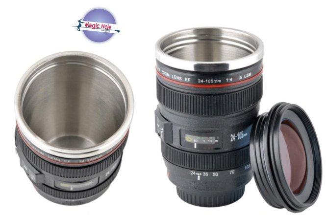 9.90€ Κούπα Φακός Φωτογραφικής Μηχανής 350ml με παραλαβή από το Magic Hole στην Αθήνα ή 12.90€ για πανελλαδική αποστολή στο χώρο σας. Κάντε τώρα δώρο στους αγαπημένους σας αυτή την καταπληκτική κούπα καφέ που μοιάζει με φακό φωτογραφικής μηχανής.