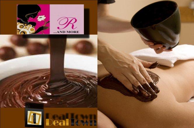 Σοκολατοθεραπεία στο Σύνταγμα 15€ Από 120€!! Για για ένα μασάζ με τον τρόπο της Σοκολατοθεραπείας διάρκειας 60 λεπτών, βασίζεται στην σοκολάτα και είναι σίγουρα ο πιο γλυκός τρόπος για ευεξία και χαλάρωση. Από το Nails R & More στο Σύνταγμα. Έκπτωση 88%!!